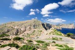 Road at Majorka Spain Stock Photos