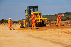 Road making Stock Photography