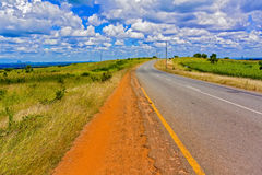Road in Malawi Royalty Free Stock Photo