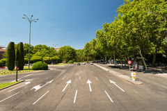 Road of Mallorca, Spain Royalty Free Stock Photography
