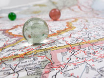 Road Map Stock Photo