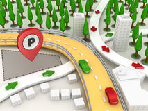 Road Map Royalty Free Stock Image