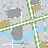 Road Map Illustration Royalty Free Stock Image