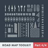 Road Map Toolkit Stock Photography