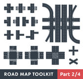 Road Map Toolkit Royalty Free Stock Photos