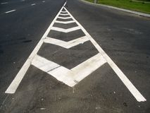 Road marking Stock Photos