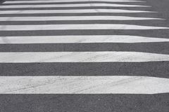 Road marking pedestrian crossing close-up. Image of road marking pedestrian crossing close-up Stock Photography