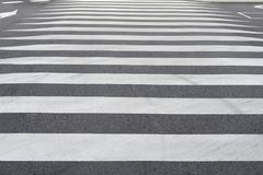 Road marking pedestrian crossing close-up. Image of road marking pedestrian crossing close-up Royalty Free Stock Image