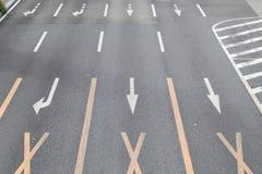 Road marking Stock Image
