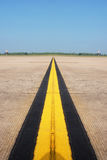 Road Marking Yellow Lines Royalty Free Stock Images