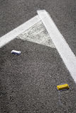 Road markings Royalty Free Stock Image