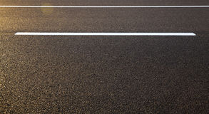 Road markings ,  asphalt Stock Photo
