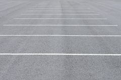 Road markings car parking Royalty Free Stock Photos