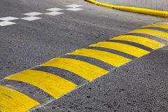 Road markings, close-up Stock Image