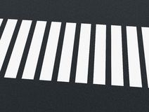 Road markings - crossing Royalty Free Stock Photography