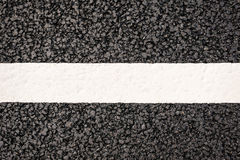 Road markings Royalty Free Stock Photography