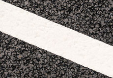 Road markings Royalty Free Stock Photos