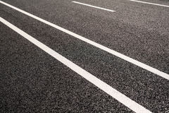 Road markings Royalty Free Stock Images