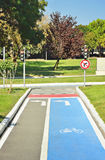 Road markings Royalty Free Stock Image