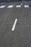 Road marks royalty free stock photos