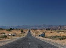 Road between Marrakesh and Ouarzazate Stock Image