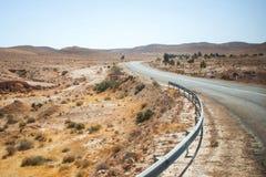 Road in Matmata Stock Image