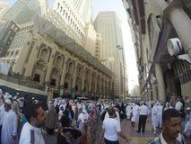 Road Mekka van Ajyad van de Fisheyemening Stock Fotografie
