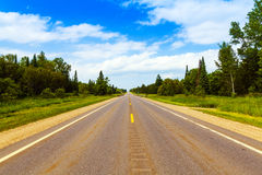 Road in Michigan Stock Photography