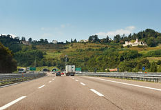The road from Milano to Genova Royalty Free Stock Photo