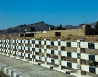 Kandahar to Spin Boldak road in Kandahar Royalty Free Stock Photography