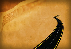 Road Money Stock Images
