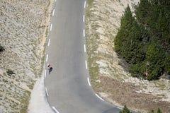 Road Mont Ventoux Stock Photos