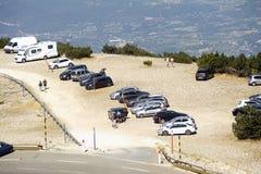 Road Mont Ventoux Royalty Free Stock Photo