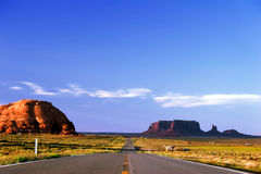 Road in Monument Valley Royalty Free Stock Photography