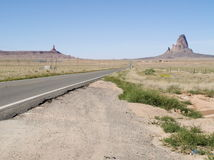 Road of Monument Valley Royalty Free Stock Photography