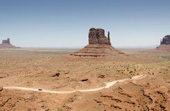 Road in Monument Valley Royalty Free Stock Photos