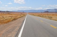 Road in Monument Valley Park Royalty Free Stock Image