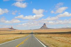 Road in Monument Valley Park I Royalty Free Stock Image