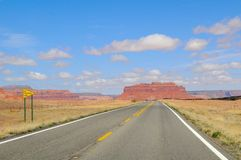 Road in Monument Valley Park II Stock Photography