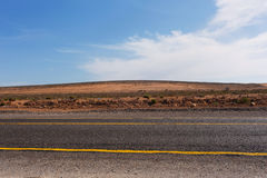 Road in Morocco Royalty Free Stock Photography