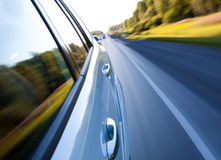 Road with motion blur Stock Photos