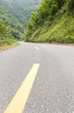 Road in a mountain Royalty Free Stock Photos
