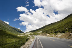 Road in a mountain Royalty Free Stock Photography
