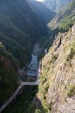Road in mountain. Transfagarasan, Romania Stock Photography