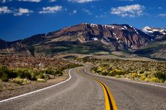 Road with Mountain Royalty Free Stock Photography