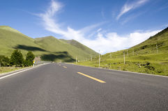 Road in a mountain 3 Stock Photography