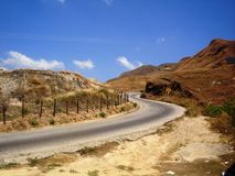 Road at mountain Royalty Free Stock Photography