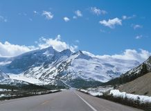 Road with Mountain Royalty Free Stock Photo