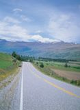 Road and Mountain Stock Photography