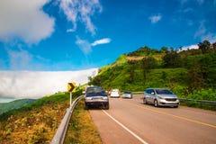 Road on mountain Royalty Free Stock Photos